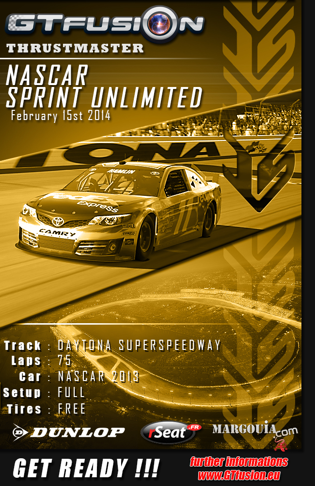 GTfusion Nascar Sprint Unlimited