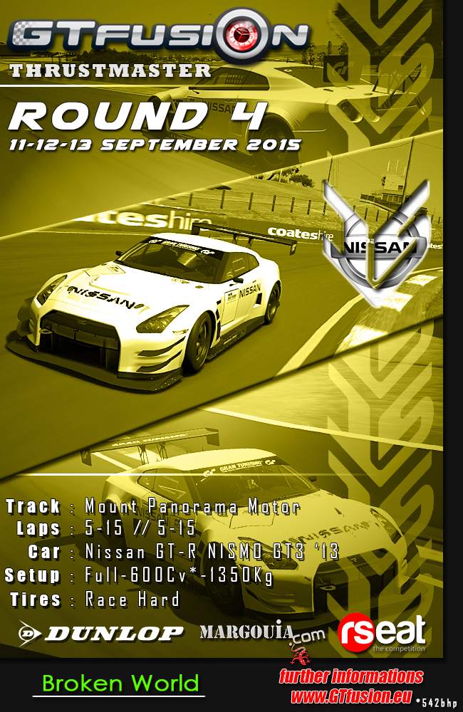 GTfusion 2015 Round4 dunlop
