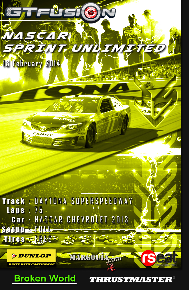 GTfusion 2015 Daytona SPRINT UNLIMITED