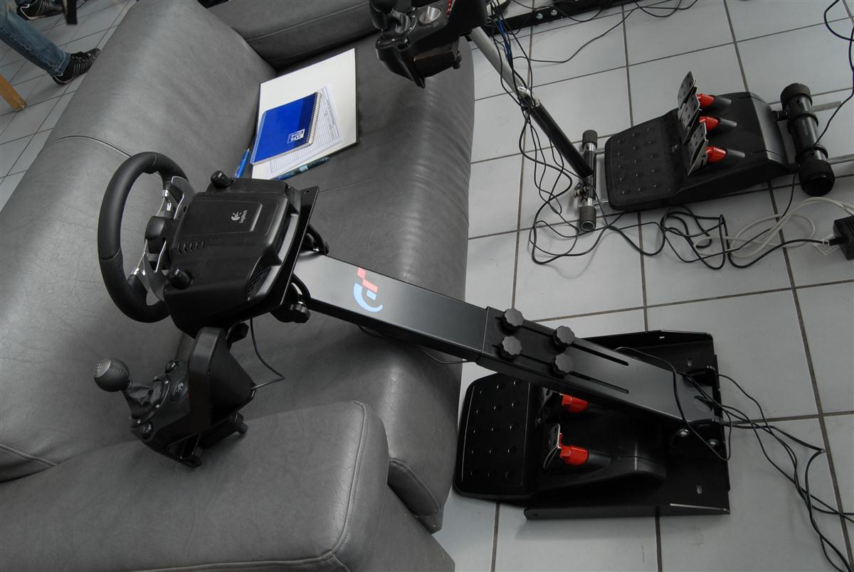 Test Game Seat - Comparatif Wheel Stand Pro